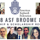 Announcing the ASF's 2018 Broome & Allen Fellowship and Scholarship Recipients